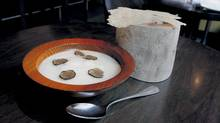 Chef David Lee's Jerusalem Artichoke Soup (Deborah Baic/The Globe and Mail)