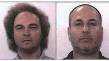 Rony Spektor, left, and Alan Zer are being sought by the RCMP after being charged with allegedly defrauding investors of millions of dollars. (Handout/RCMP)