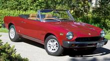 Mel Leiderman paid $6,200 for his Fiat Spider in 1975. (Brent Lewin/Brent Lewin)