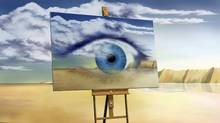 Art can help when you lose your sight, says Russell Smith (Thinkstock)
