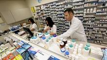In an unexpected move, the Ontario government said late Friday that it is lowering the price it will pay for the top 10 generic drugs to 20 per cent of their brand-name equivalents, from 25 per cent previously. The initiative will save the province $55-million in public drug-plan costs, which can be redirected to 'more important priorities,' it said in a background paper. (Deborah Baic/The Globe and Mail/Deborah Baic/The Globe and Mail)