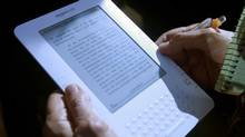 Amazon's Kindle e-reader (Mario Tama/2009 Getty Images)