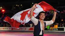 Canadian Patrick Chan competes in the mens free skate at the ISU World Figure Skating Championships 2013 in London, Ont. Friday, March 15, 2013. (Kevin Van Paassen/The Globe and Mail)