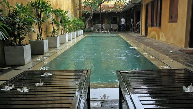 The addition of a pool at The Fort Printers Hotel in Galle Fort was one of the only modifications the historic UNESCO-protected property was allowed to make.