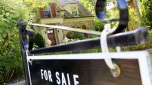 Home for sale in Toronto on Aug 29, 2011. (Peter Power/Peter Power/The Globe and Mail)