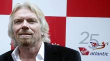 British entrepreneur Richard Branson arrives at the Virgin Atlantic 25th anniversary party in New York June 22, 2009. (ERIC THAYER/REUTERS)
