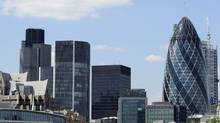 London's financial centre. The U.K. is bitterly opposed to the tax unless other Group of 20 nations agree to impose similar levies. (PAUL HACKETT/PAUL HACKETT/REUTERS)