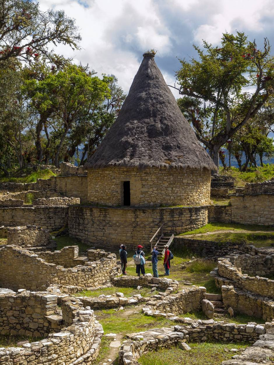 Forgotten through time, ancient Kuelap in Peru an ethereal escape