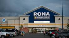 Home and garden centre Lowe's has put in a bid for ownership of its currently Canadian-owned competitor, Rona, July 31, 2012. (Galit Rodan/The Globe and Mail)