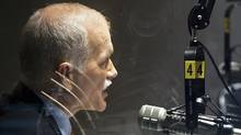 NDP Leader Jack Layton does a radio interview in Montreal on April 26, 2011. (Andrew Vaughan/The Canadian Press/Andrew Vaughan/The Canadian Press)