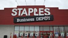 A Staples outlet. (J.P. MOCZULSKI For The Globe and Mail)