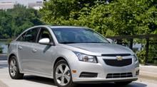 2012 Chevrolet Cruze (GM/Wieck)