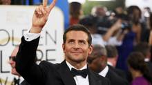 Actor Bradley Cooper arrives at the 71st annual Golden Globe Awards in Beverly Hills, California January 12, 2014 (DANNY MOLOSHOK/REUTERS)