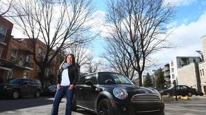 Roseline Filion bought her first Mini in 2007.