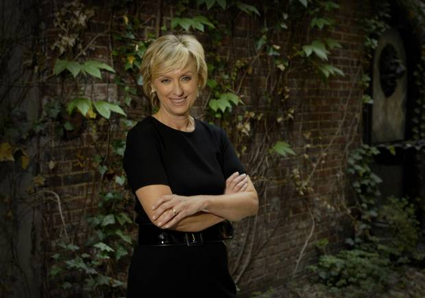 Tina Brown, founder of Talk magazine and former editor of the New Yorker, at her home in New York City.
