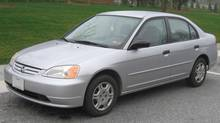 After an exhaustive search, Ted Laturnus' daughter bought a 2001 Honda Civic. (Honda)