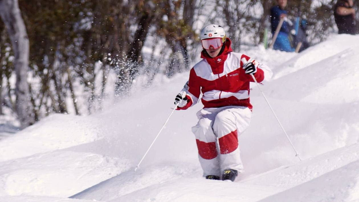 Mikael Kingsbury is a Canadian moguls skier.