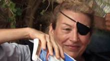Journalist Marie Colvin is seen in a June 2011 file photograph. (Zohra Bensemra/Reuters/Zohra Bensemra/Reuters)