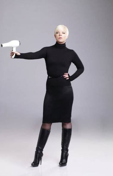 REALITY: Tabatha Takes Over (Slice, 8 p.m.) Along with split ends and bad perms, Tabatha Coffey does not suffer fools gladly. Now in its fourth season, this entertaining series documents the rescue missions of the brash Aussie hairstylist in struggling hair salons all over the U.S. The watch-factor stems from the tough-love approach Tabatha takes with the owners, who invariably are the last people who should be running any business. And every so often Tabatha lends her expertise to clip joints of a different sort. In tonight's new show, she's in Los Angeles where the couple Tee and Tania are trying to salvage their doggie daycare and grooming business called Barkingham Palace. Why is the business failing? On her first day, Tabatha learns that Tania's management style is virtually non-existent and Tee commands no respect. Worse, they routinely have knockdown arguments right in front of their staff.