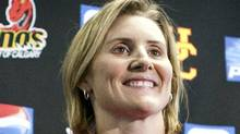 Olympic gold medalist hockey player Hayley Wickenheiser . (Jeff McIntosh/THE CANADIAN PRESS)