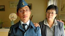 Cowin Poon of Markham, whose mother immigrated to Canada from Hong Kong, is a member of the Air Cadets. (Peter Power/The Globe and Mail/Peter Power/The Globe and Mail)