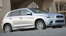 2011 Mitsubishi Outlander (Ted Laturnus for The Globe and Mail)
