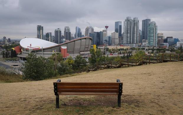 The Scotiabank Saddledome is Calgary's most recognizable building, but attempts to replace it show conflicting visions of Calgary's future.