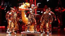 A scene from the Cirque du Soleil production Michael Jackson: The Immortal World Tour. (Olivier Samson Arcand)