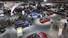 Last year's Media Day at the Canadian International Auto Show. (Deborah Baic/The Globe and Mail)