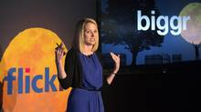 This month marks Marissa Mayer's one-year anniversary as the latest head of Yahoo Inc. (ADREES LATIF/REUTERS)