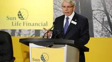 Sun Life Financial CEO Dean Connor speaks at the annual meeting May 10 in Toronto. (MARK BLINCH/REUTERS)