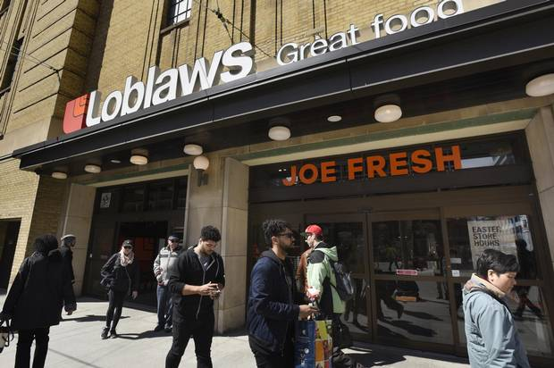 Exterior of a Loblaws location in downtown Toronto.