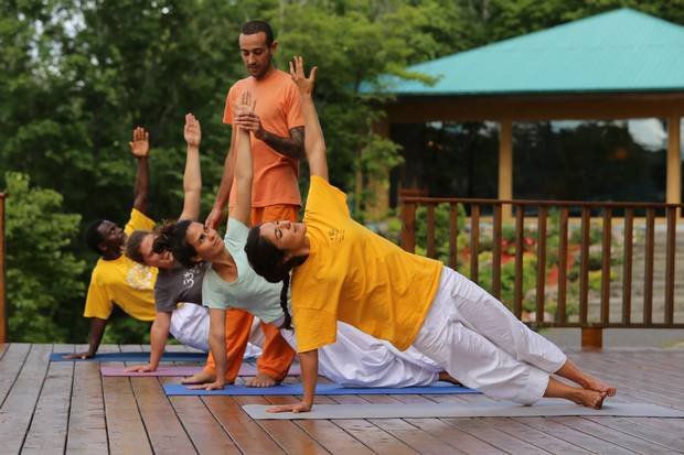 The Sivananda Ashram Yoga Camp focuses on spirituality, which may not be for everyone.