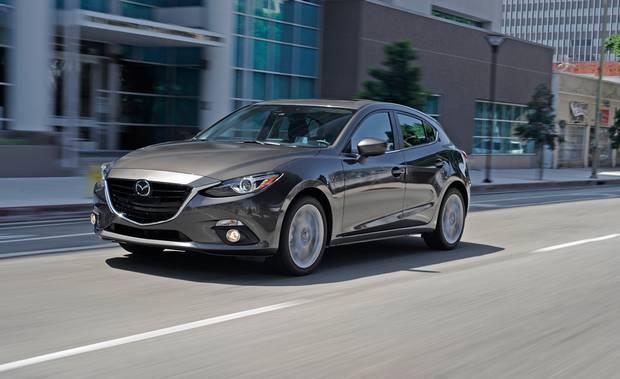 2014 Mazda3.