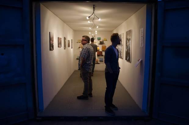 Roosevelt Row happenings include pop-up galleries.