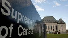 The Supreme Court of Canada in is shown on October 7, 2010. (Adrian Wyld/THE CANADIAN PRESS)