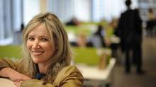 Margaret Galvin, head of recruiting for Accenture in Toronto and mother of two, has been promoted twice since she went to a compressed work week. (Fred Lum/The Globe and Mail/Fred Lum/The Globe and Mail)