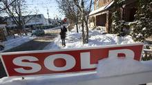 The Royal Bank of Canada says the ability of Canadians to keep up with housing costs has been improving of late, but warns that's about to change. (Deborah Baic/The Globe and Mail)