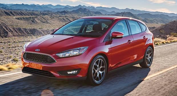 2017 Ford Focus.