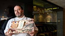 Chef Danny McCallum of Jacobs & Co. Steakhouse in Toronto is working on a phone app that will allow diners to access all the information available about a particular animal. (Galit Rodan for The Globe and Mail)