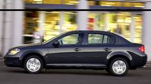 With aggressive bargaining, savvy buyers may be able to negotiate deals based on $5000 factory-to-dealer incentive currently offered on the 2010 Chevrolet Cobalt. (General Motors)