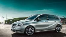 The 2013 B250 is lower, sleeker and more stylish than its predecessor. (Mercedes-Benz)