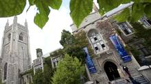 The University of Toronto fell out of the top 20 in this year's Times Higher Education World University Rankings list, dropping two places to 21. (Kevin Van Paassen/The Globe and Mail)
