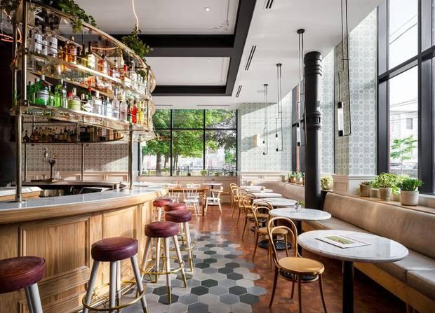 Broadview Hotel, Café + Bar, Toronto.
