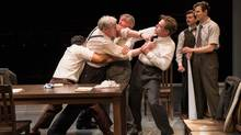 Twelve Angry Men challenges the audience to see beyond stereotypes. (Cylla von Tiedemann for The Globe and Mail)