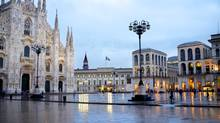 For a grand view of the Duomo at sunset head to the rooftop bar at the contemporary and colourful Hotel Boscolo. (Simone Angelo Ferri/Thinkstock)