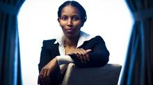 Ayaan Hirsi Ali a Somali-Dutch feminist and atheist activist, says death threats she received after she criticized Islam have, paradoxically, led her to live life more fully. (John Lehmann/The Globe and Mail)