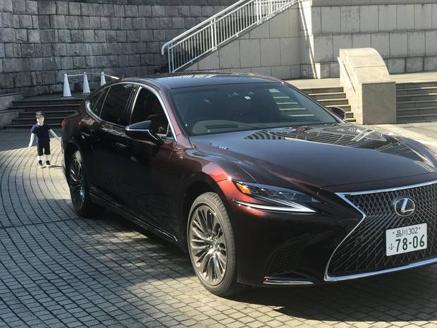 The Lexus 2018 LS sedan.