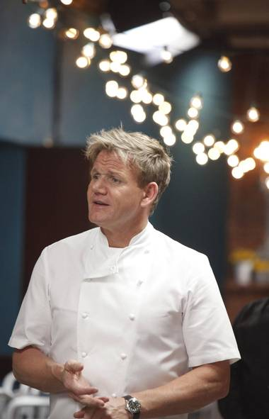 REALITY Kitchen Nightmares (Fox, Global, 8 p.m.) Loud, angry and a little scary-looking, Gordon Ramsay certainly has a lot of shows on American television these days. This one's about helping stupid Americans with failing restaurants and tonight the bullish Brit chef barrels into a beachside Massachusetts eatery with the classy name of Barefoot Bob's. After eight years the joint is losing money and married proprietors Marc and Lisa only seem to have just realized that not a lot of people in Massachusetts go to the beach in the winter. After the couple expose several deep-seeded marital problems, Chef Ramsay inspects the kitchen and discovers dusty shelves and clam chowder thicker than spackle. Ramsay's standard pitched fit ensues, followed by a Barefoot Bob's business rebound and a sound life-lesson for us all.