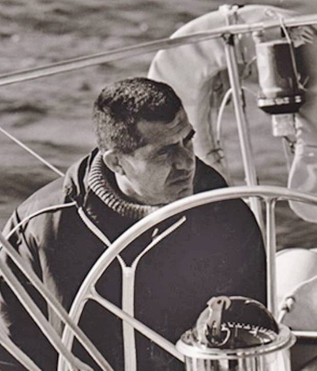 George Cuthbertson C&C Yachts became one of the top design firms in the world in the wake of his sailboat Red Jacket's success.